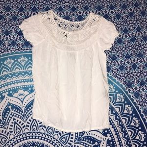 NEW! White Max Edition Blouse